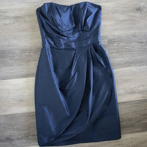 Alfred Sung Midnight Cocktail / Bridesmaid Dress